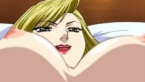Imagen Busty hentai blonde fucked from behind hentai video